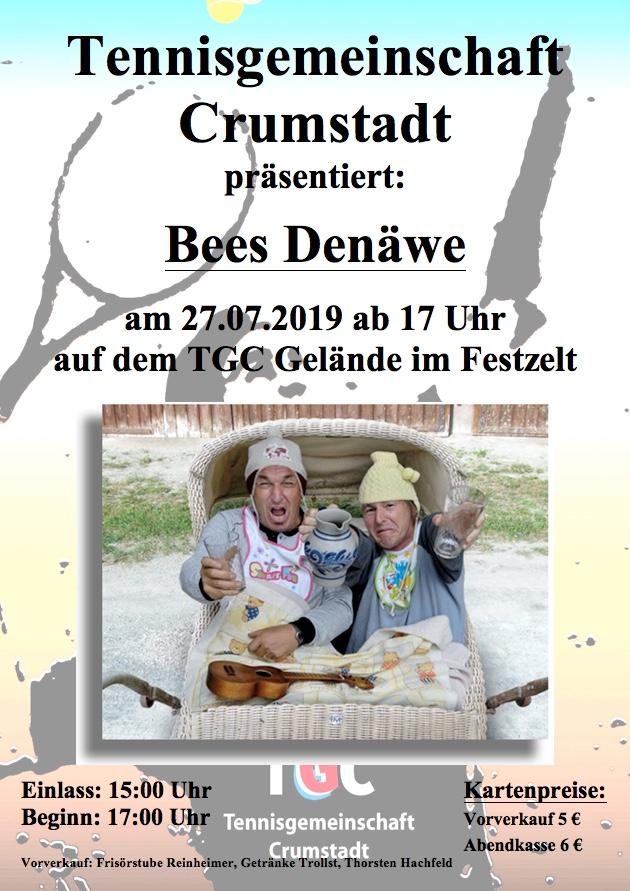 Einladung zum Sommerfest der TGC